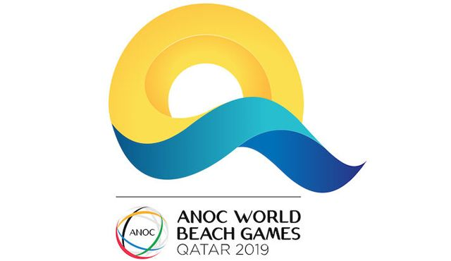 DVV-Team bei den World Beach Games am Start - Logo World Beach Games