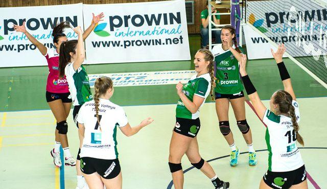 proWIN Volleys treten am Sonntag beim Tabellenletzten SV Lohhof an - Foto: Georg Kunz