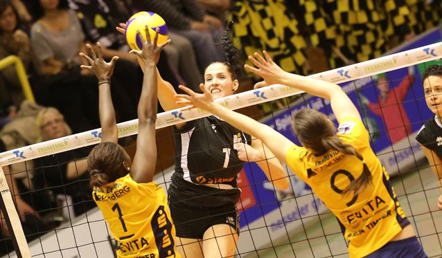 Ladies in Black starten beim Schweriner SC in die Playoffs - Foto: Ladies in Black Aachen