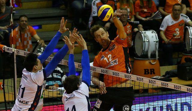 BR Volleys stehen im Meisterschafts-Halbfinale - Foto: Eckhard Herfet