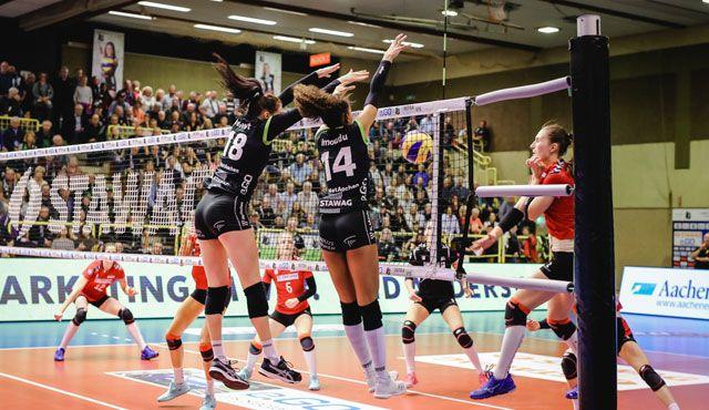 Ladies in Black am Mittwoch ab 19:10 live auf Sport1 - Ladies in Black Aachen\\ Luz Müller