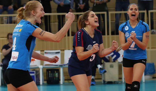 VCW-Libera Alyssa Longo bleibt in Wiesbaden: US-Amerikanerin verlängert um ein weiteres Jahr - Foto: Detlef Gottwald