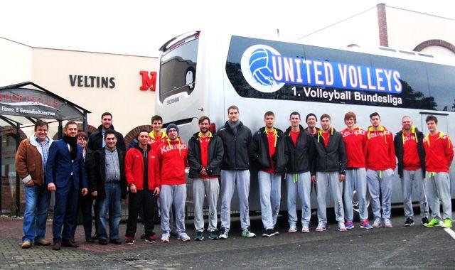In neuem Look nach Mitteldeutschland - Foto: United Volleys