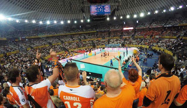 Trotz Platz vier überwiegt der Stolz - Foto: BR Volleys