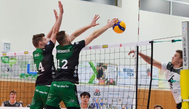 Die Netzhoppers können das Doppelspielwochenende mit drei Punkten beenden - Foto: Dagmar Jaschen