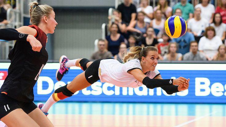 Lenka Dürr beendet grandiose Volleyball-Karriere - Foto: Conny Kurth / DVV