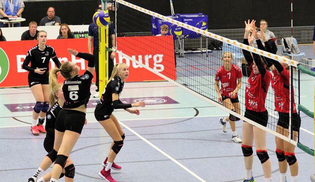 Volleyball-Team Hamburg konnte nur im ersten Satz überzeugen - Foto: VTH/Lehmann
