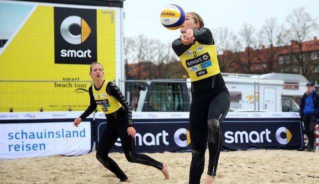 NawaRo Beach-Team freut sich auf sehr gut besetzten smart super cup in Hamburg - Foto: hoch zwei, smart beach tour