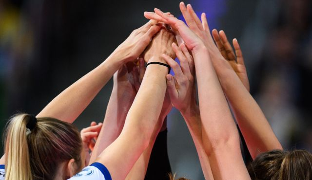Situation bedrohlich: Frauen-Bundesligisten arbeiten für sportliche Zukunft zusammen - Foto: Conny Kurth / DVV