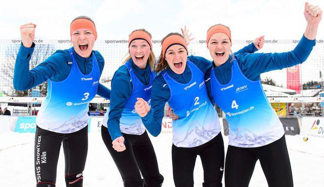 Erste Teams buchen Halbfinale ? Medaillenvergabe am Sonntag - Foto: Conny Kurth / DVV