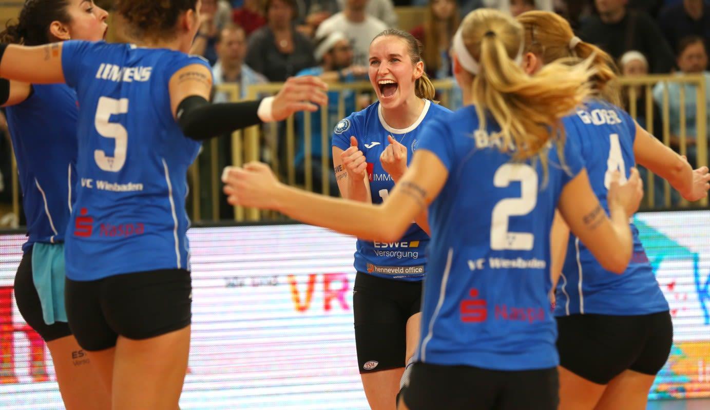 Sieg nach großem Kampf: VCW holt in Potsdam zwei Punkte - Foto: Eckhard Herfet