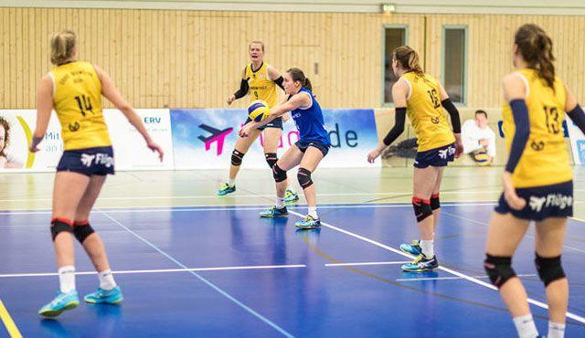 DSHS SnowTrex Köln beim Volleyball-Team Hamburg zu Gast - Foto: Martin Miseré