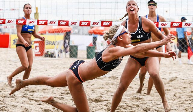 Zwei Frauen-Duos im 1/4-Finale - Vier DVV-Duos scheitern - Foto: FiVB