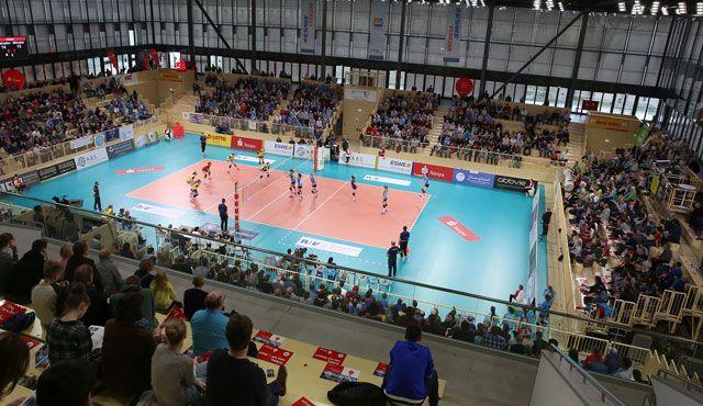 VCW-Saisonstart: Endlich wieder Bundesliga-Volleyball in Wiesbaden - Foto: Detlef Gottwald