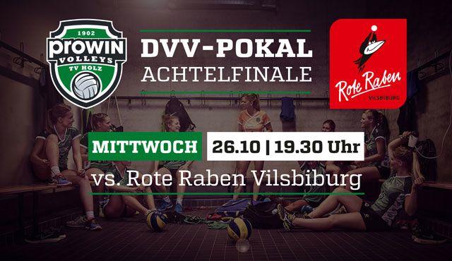 Pokalhighlight für die proWIN Volleys TV Holz - Erstligist Vilsbiburg kommt ins Saarland - Foto: proWIN Volleys TV Holz