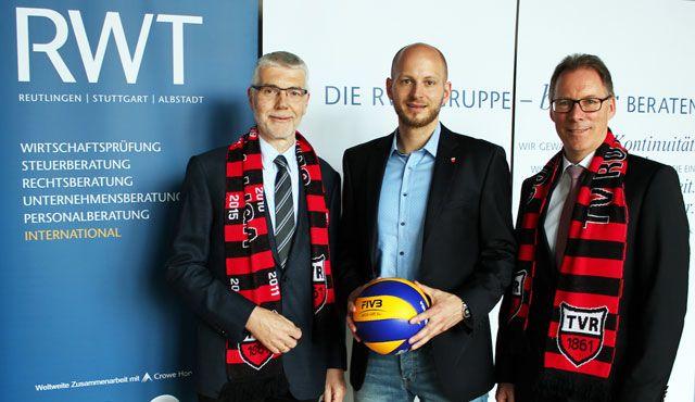 RWT wird neuer Partner des TV Rottenburg - Foto: RWT