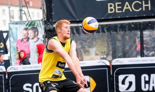 TC-Beacher Bergmann / Harms holen sich Platz vier beim bayerischen Beach Masters Cup in München - Foto: Kurt Meyer-Bergmann