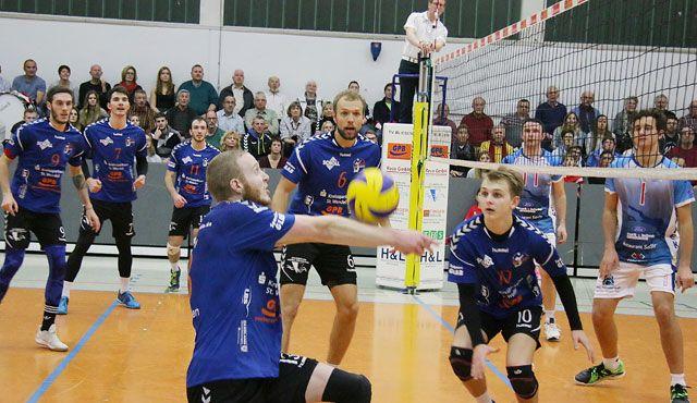 Volleyball: Bliesen zum Neujahrsauftakt gegen VfB Friedrichshafen - Foto: Bonenberger