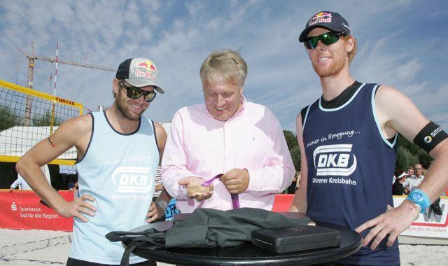 50 Jahre Volleyball in Düren: Besondere Gäste beim DKB-Beach-Cup - Foto: SWD Powervolleys Düren