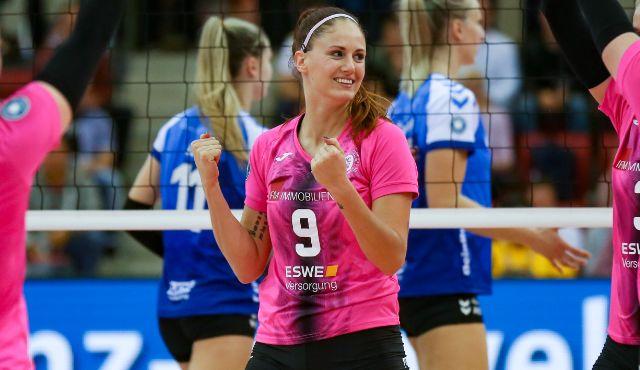 Klára Vyklická für eine weitere Saison beim VCW - Foto: Detlef Gottwald