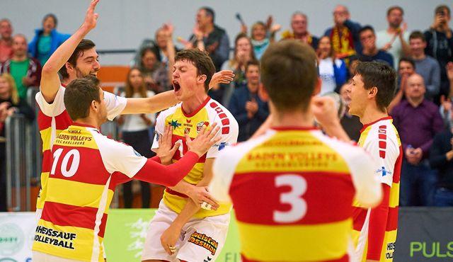 Mit einem Heimspiel starten die BADEN VOLLEYS SSC Karlsruhe in die neue Saison  - Foto: Andreas Arndt