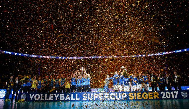 Match IQ unterstützt die Volleyball Bundesliga bei der Umsetzung des comdirect Supercup 2018 - Foto: Conny Kurth