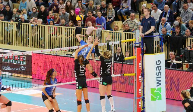 Blaue Wand in voller Stärke - VCW-Ticketverkauf startet am 29. September - Foto: Detlef Gottwald