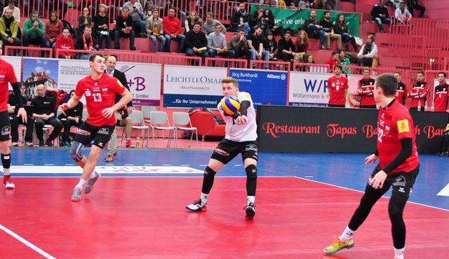 TVR verliert zuhause 3:0: United Volleys sind zu stark - Foto: Klaus Hirsch