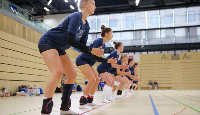 Training auf Distanz beim VC Wiesbaden - Foto: Detlef Gottwald
