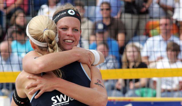 50 Jahre Volleyball in Düren: Das Frauen-Feld beim DKB-Beach-Cup - Foto: Verein