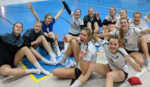Volleyball-Team Hamburg gewinnt Krimi beim SV Bad Laer - Foto: VTH