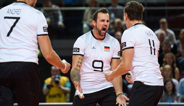 Vize-Europameister Deutschland fordert Olympiasieger Brasilien in Leipzig und Dresden heraus - Foto: Conny Kurth