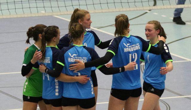 Niederlage für das Volleyball-Team Hamburg in Oranienburg - Foto: VT Hamburg/Lehmann
