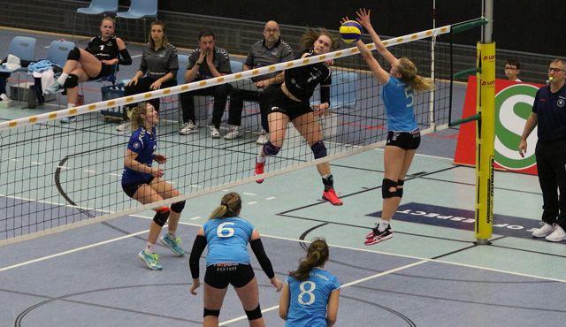 Rückschlag für das Volleyball-Team Hamburg im Abstiegskampf - Foto: VTH/Lehmann