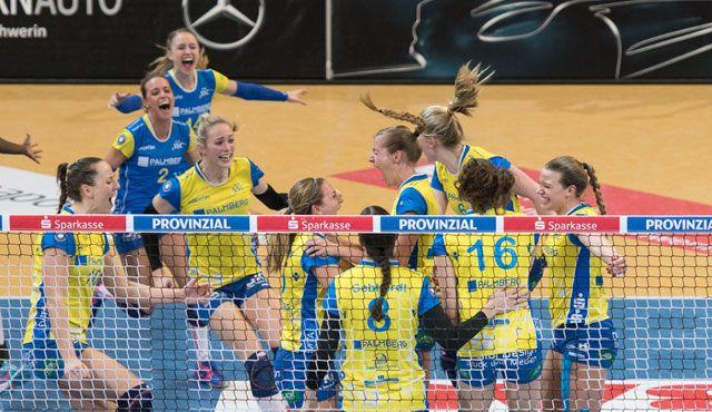 SPORT1 präsentiert ab der neuen Saison erstmals Spiele der Volleyball Bundesliga der Frauen live und exklusiv im Free-TV - Foto: Erhard Heiden