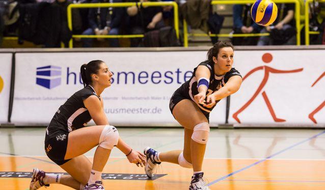 Aachen am Samstag im wichtigen Spiel bei den VolleyStars Thüringen - Foto: Ladies in Black Aachen
