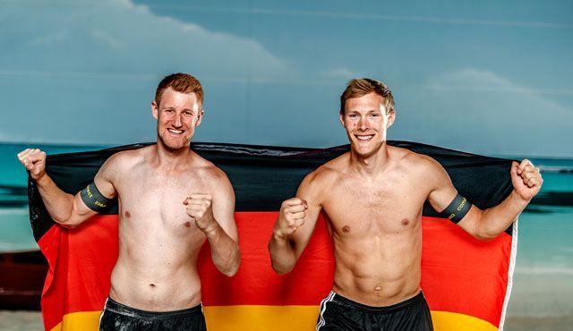 Europameisterschaften 2018 mit Bergmann / Harms vom TC Hameln - Foto: Bergmann / Harms