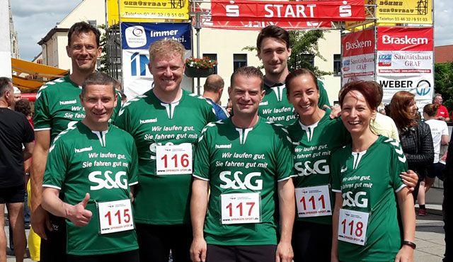 Gemeinsam ans Ziel - Pirates und S&G laufen für den guten Zweck - Foto: CV Mitteldeutschland e. V.