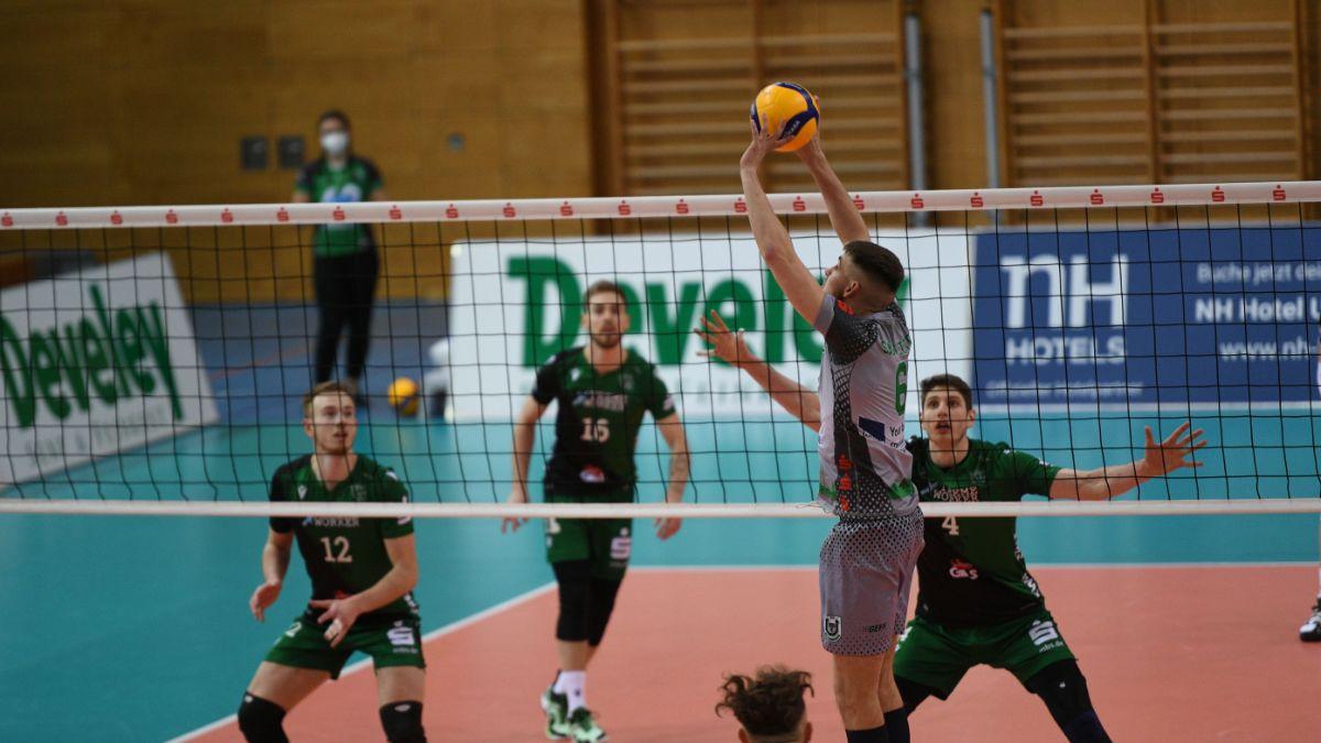 Netzhoppers punkten bei wichtigen Auswärtsspiel - Foto: TSV Unterhaching