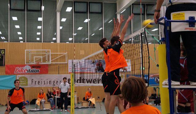 SCF-Volleyballer müssen im Kellerduell punkten - Foto: SC Freising