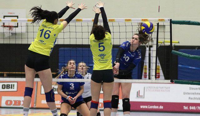 Volleyball-Team Hamburg erfüllt die Pflichtaufgabe  - Foto: VTH/Lehmann