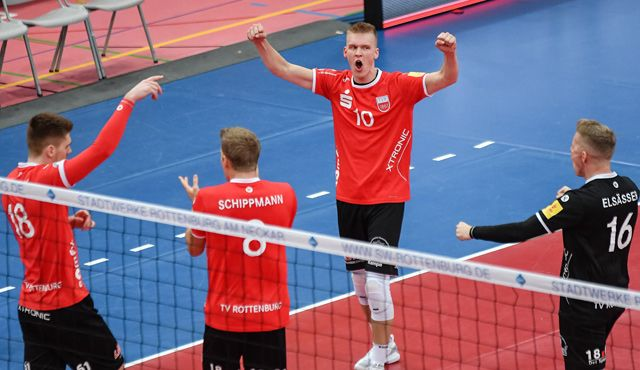 Rottenburg bei den United Volleys: Röling's coming home - Foto: Ralph Kunze