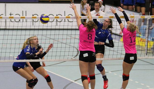 Volleyball-Team Hamburg gewinnt Abstiegskrimi  - Foto: VTH Lehmann
