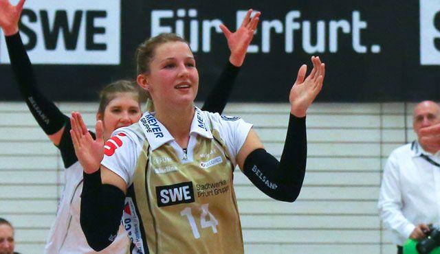 Libera verpflichtet: Lisa Stock kommt zum VC Wiesbaden - Foto: Detlef Gottwald