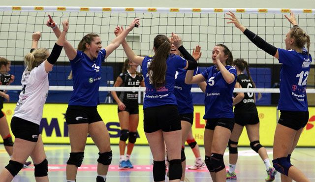 Volleyball-Team Hamburg setzt Siegesserie fort  - Foto: VTH/Lehmann