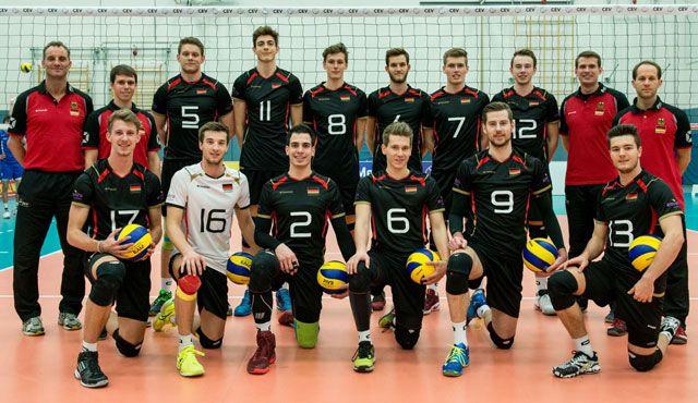 U21 Nationalteams Deutschland und Frankreich in Mitteldeutschland - Foto: DVV
