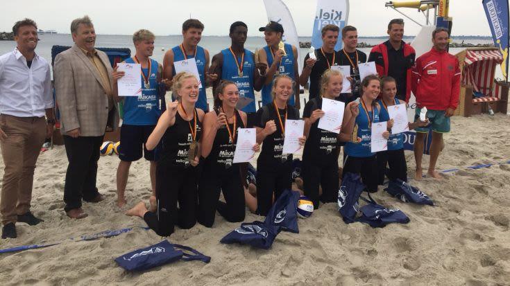 juniors beach tour nimmt in Kiel das Ende und kürt neue Deutsche Meister U19 - Foto: dvj