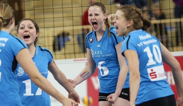 Spitzenspiel zum Abschluss der Hauptrunde: Schweriner SC zu Gast beim VCW - Foto: Detlef Gottwald