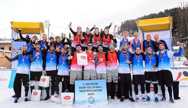 Goldener Sonntag krönt DM-Champions - Foto: Conny Kurth / DVV