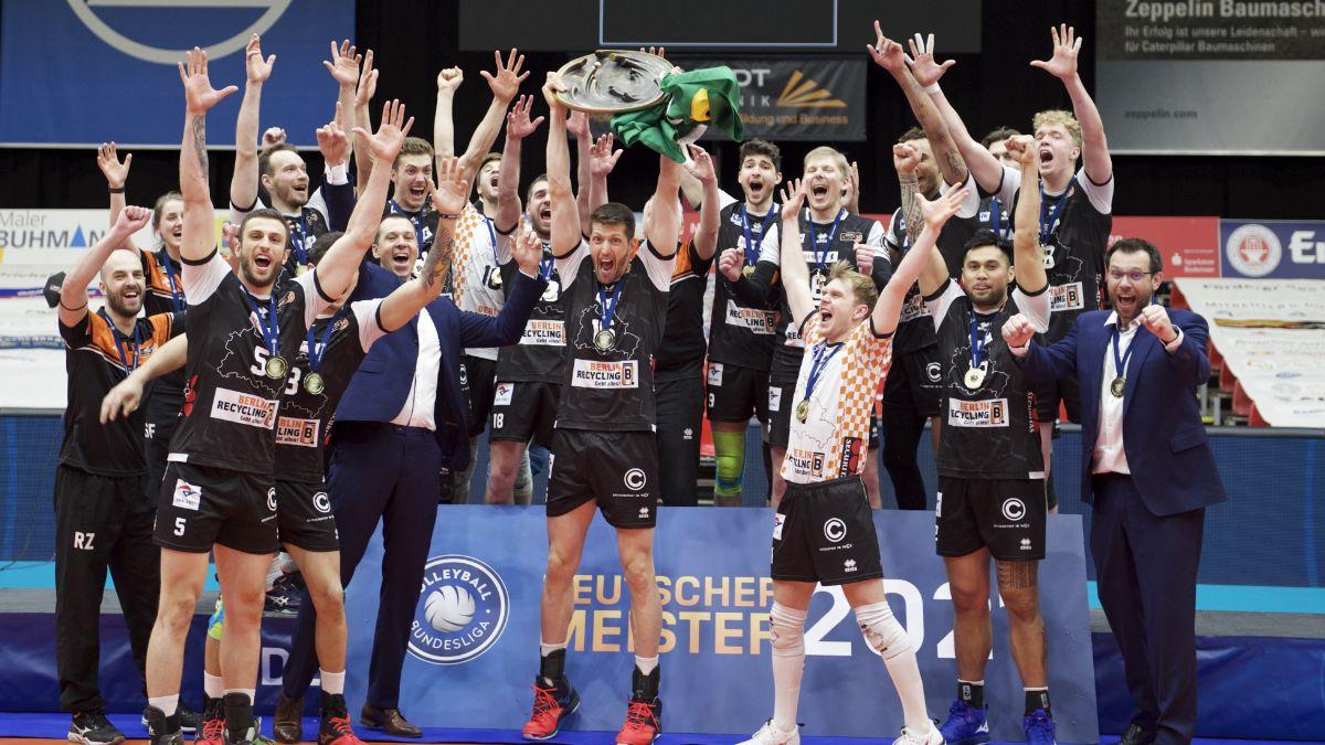 Elfter Meistertitel für die BR Volleys - Foto: Günther Kram